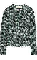 Marni Printed Woven Cotton Jacket - Lyst
