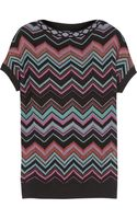 M Missoni Chevronknit Sweater - Lyst