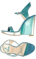 Fabi Wedge - Lyst