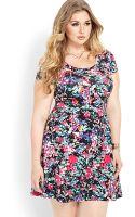 Forever 21 Whimsical Paint Splatter Dress - Lyst