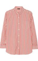 Isabel Marant Eddie Striped Cotton Shirt - Lyst