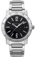 Bvlgari - Stainless Steel Automatic Watch - Lyst