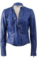 Alexander McQueen Leather Jacket - Lyst