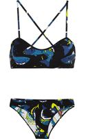 Kenzo Reversible Printed Bikini - Lyst
