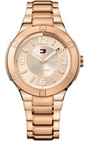 Tommy Hilfiger Womens Rose Gold Ion-plated Stainless Steel Bracelet Watch 42mm - Lyst