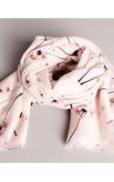 Pull&Bear Dandelion Print Foulard - Lyst