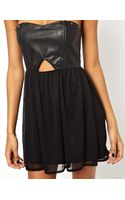Oh My Love Prom Dress with Pu Bustier - Lyst