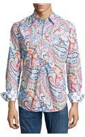 Robert Graham Perfecto Classic Paisley Sport Shirt - Lyst