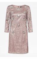 French Connection Angelfire Sparkle Dress - Lyst