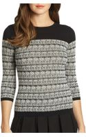 RED Valentino Cotton Gauze Jacquard Top - Lyst