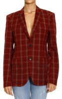 John Richmond Jackets Check 2 Bottons with Micro Studs - Lyst