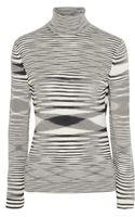 Missoni Spacedyed Woolblend Turtleneck Sweater - Lyst