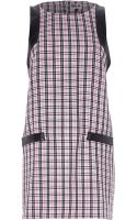River Island  Chelsea Girl Check Print Shift Dress - Lyst