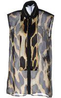 Givenchy Sleeveless Shirt - Lyst