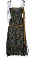 Marni 34 Length Dress - Lyst