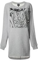 McQ by Alexander McQueen Manga Sweater Dress - Lyst