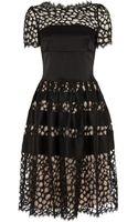 Temperley London Graphic Tile Lace Dress - Lyst