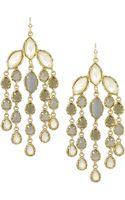 Kendra Scott Multistone Chandelier Earrings Mist - Lyst