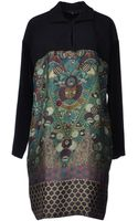 Etro Short Dress - Lyst