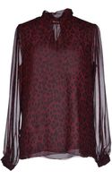 Fontana Couture Blouse - Lyst