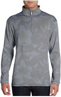 Tommy Bahama Megapixel Halfzip Pullover - Lyst