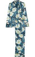 Equipment Avery Printed Washedsilk Pajama Set - Lyst