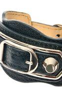 Balenciaga Studded Leather Bracelet - Lyst
