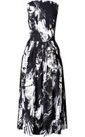 Preen By Thorton Bregazzi Vertigo Dress - Lyst