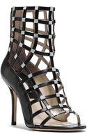 Michael Kors Cora Studded Leather Sandal - Lyst