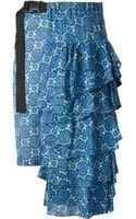 Zucca Asymmetric Skirt - Lyst