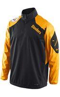 Nike Mens Pittsburgh Steelers Halfzip Jacket - Lyst