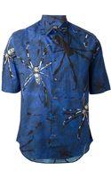 McQ by Alexander McQueen Spider Print Shirt - Lyst