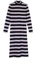Tibi Cozy Stripe Knit Dress - Lyst