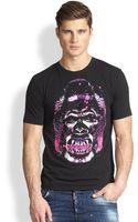 DSquared2 Gorilla Print Tshirt - Lyst