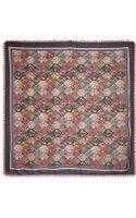 Tory Burch Anatolia Silk Square Scarf - Lyst
