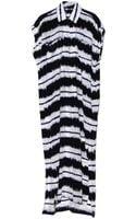 10 Crosby Derek Lam Ink Combo Two Pocket Maxi Dress - Lyst