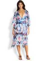 Milly Illusion Caftan - Lyst