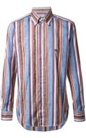 Etro Mix Pattern Shirt - Lyst
