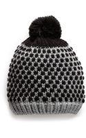 Mango Knit Scarf - Lyst