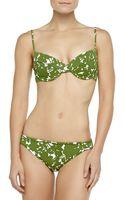 Michael Kors Floral-print U-wire Bikini - Lyst