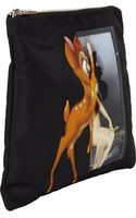 Givenchy Bambi and Womanprint Large Zip Pouch - Lyst
