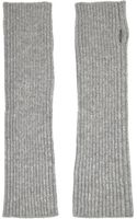 N.peal Cashmere Ribbed Cashmere Fingerless Gloves - Lyst