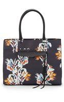 Rebecca Minkoff Medium Mab Floral-print Leather Tote Bag - Lyst