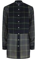 Polo Ralph Lauren Jamie Silk Checked Shirt - Lyst