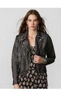 Denim & Supply Ralph Lauren Boyfriend Moto Jacket - Lyst