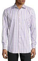 Robert Graham Grady Woven Plaid Dress Shirt - Lyst