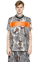 Givenchy Colombian Fit Paisley Cotton T-shirt - Lyst