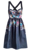 Cynthia Rowley Bra Top Dress - Lyst