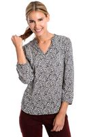 Lucky Brand Ditsy Floral Print Top - Lyst