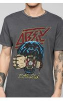 Obey Eat The Rich Tee - Lyst